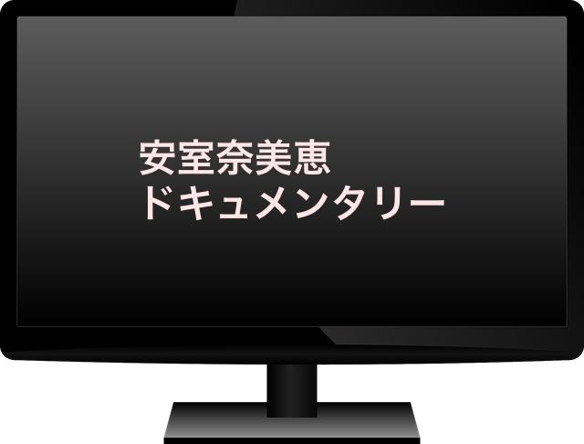 安室奈美恵ドキュメンタリー